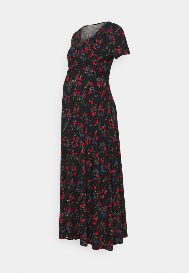 MAXIDRESS FLOWERS - Robe longue - dessin