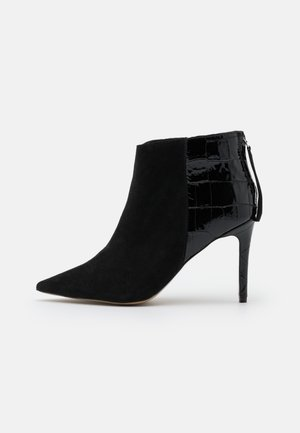 LADIES NIGHT - High heeled ankle boots - black