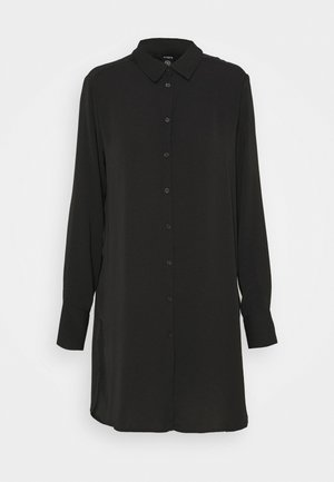 HELGA - Shirt dress - black