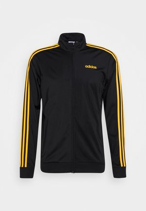 Training jacket - black/active gold