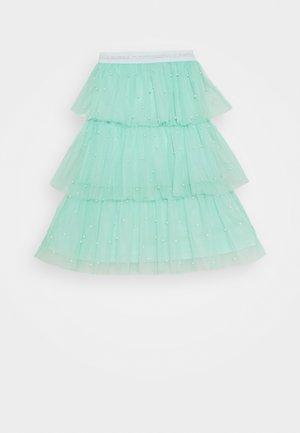 Áčková sukně - mint