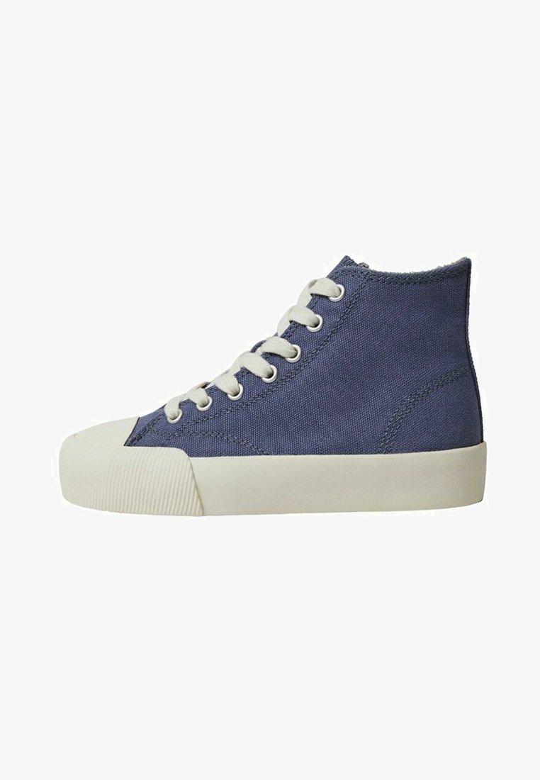 Mango - DALLASB - High-top trainers - blau