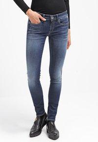 Replay - HYPERFLEX LUZ - Jeans Skinny Fit - dark blue - 0