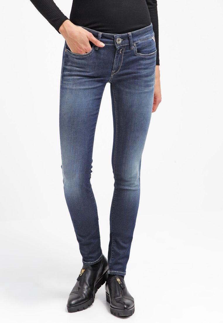 Replay - HYPERFLEX LUZ - Jeans Skinny Fit - dark blue
