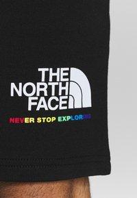 The North Face - RAINBOW SHORT - Pantalón corto de deporte - black - 5
