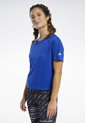 LOGO TEE - Basic T-shirt - blue
