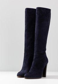 Cosmoparis - SALEMAS - High heeled boots - marine - 4
