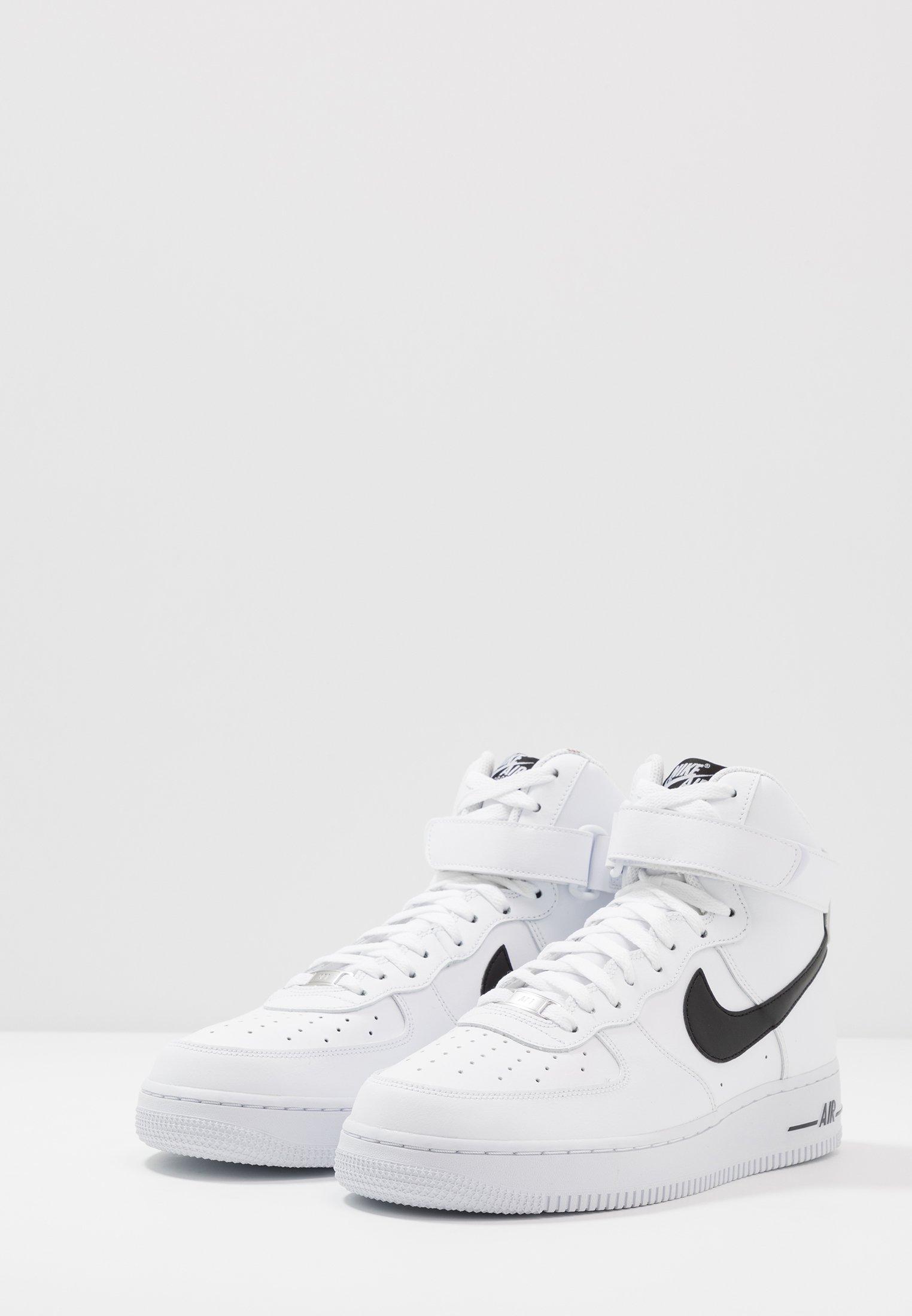 Nike Sportswear AIR FORCE 1 '07 - Sneakers alte - white/black ...