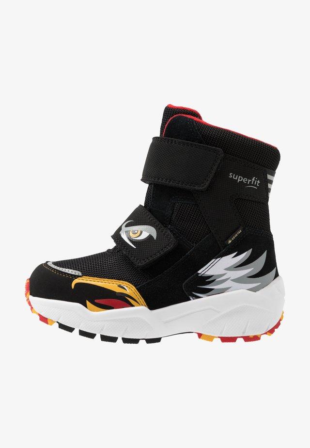 CULUSUK 2.0 - Zimní obuv - schwarz/rot