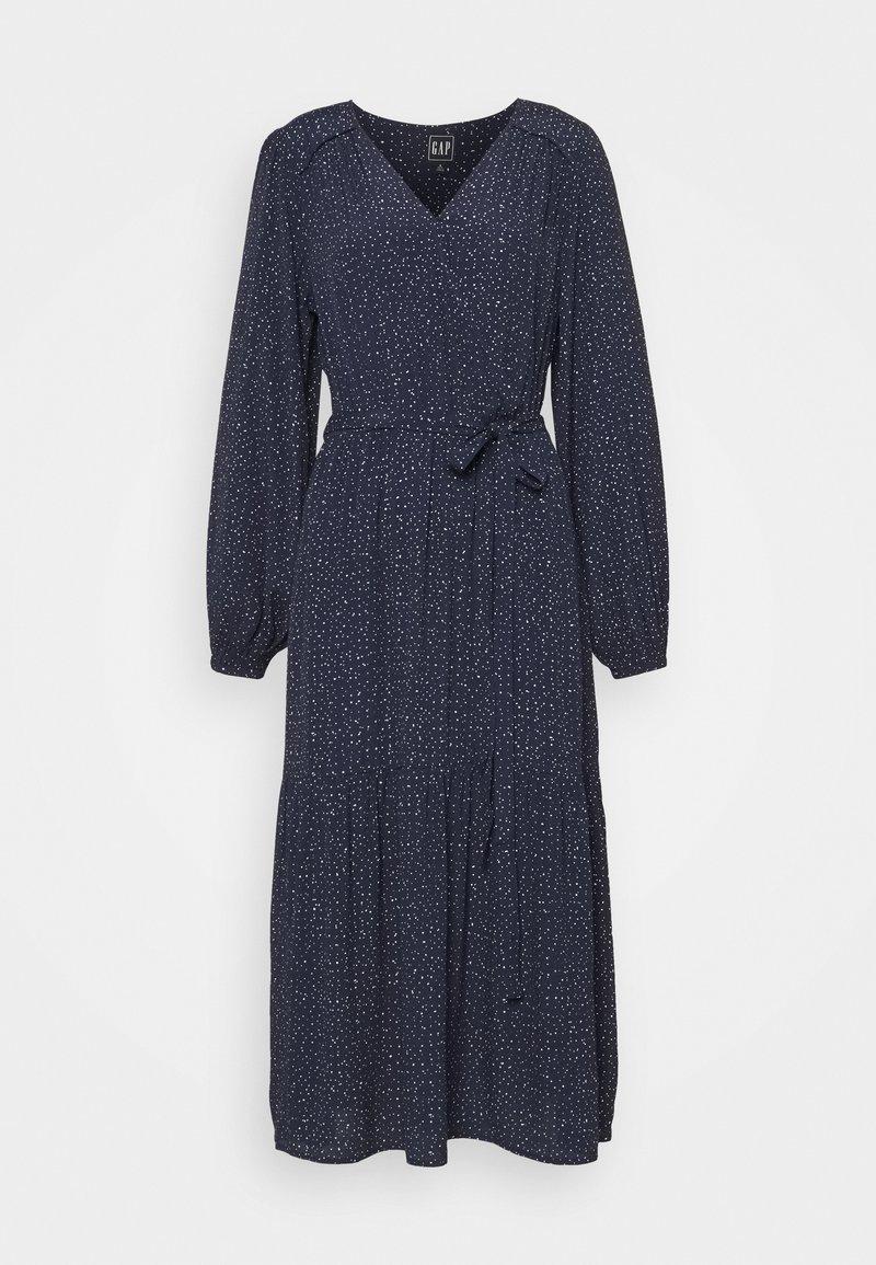 Gap Tall - Day dress - scatter dot navy