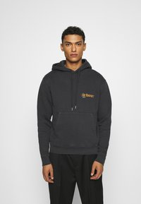 The Kooples - Hoodie - black washed - 0