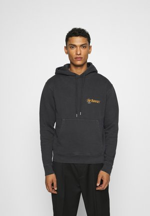 Sweat à capuche - black washed