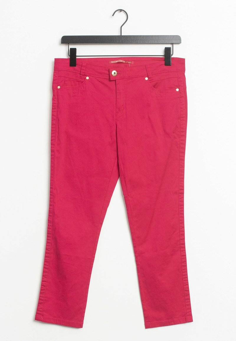Street One - Straight leg jeans - red