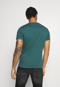 Replay - 2 PACK - T-shirt basic - sand /green - 2