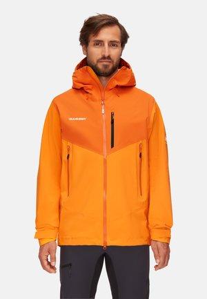 Giacca hard shell - orange