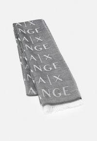Armani Exchange - LOGO SCARF - Scarf - black - 0
