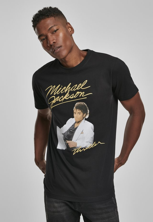 MICHAEL JACKSON THRILLER  - T-shirt imprimé - black