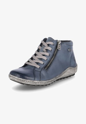 High-top trainers - blau