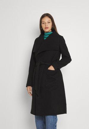 ONLNEWPHOEBE DRAPY COAT - Cappotto classico - black