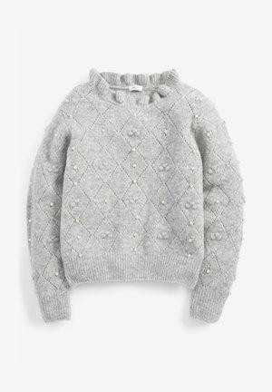 PEARL EMBELLISHED - Svetr - grey