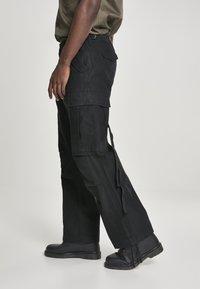 Brandit - VINTAGE - Cargo trousers - black - 3