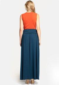 HotSquash - Pleated skirt - Woodland Teal - 2