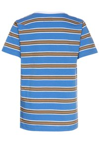 Mads Nørgaard - SUMMER STRIPE TROLINO - T-shirts print - palace blue - 1