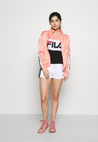 Fila Petite - TAOTRACK JACKET - Training jacket - lobster bisque/bright white - 1