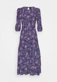 YAS - YASLIMANA 2/4 MIDI SMOCK DRESS - Maxi dress - astral aura/limana - 0