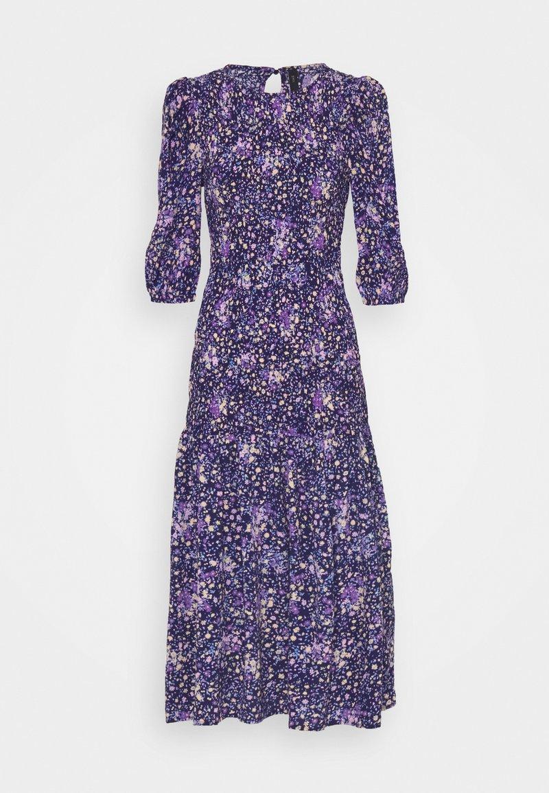 YAS - YASLIMANA 2/4 MIDI SMOCK DRESS - Maxi dress - astral aura/limana
