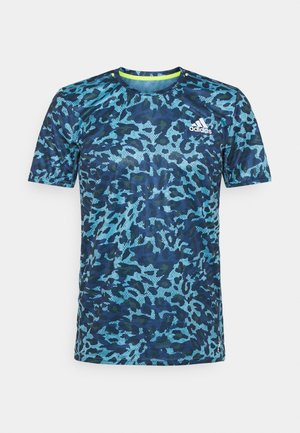 TEE MEN - Print T-shirt - hazy blue