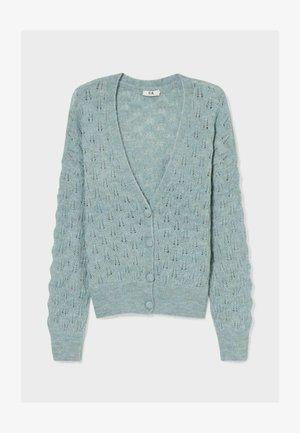 Cardigan - light turquoise