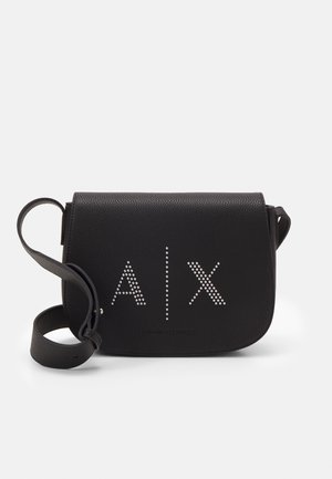 MEDIUM CROSSBODY BAG WOMANS CROSS BODY BAG - Across body bag - black