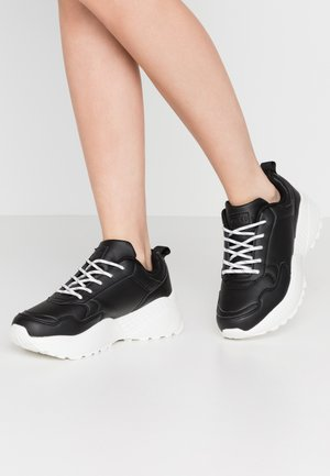 DETAIL TRAINERS - Trainers - black