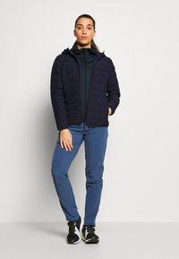CMP - WOMAN JACKET FIX HOOD - Outdoor jakke - dark blue - 1