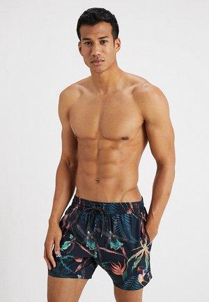 CRUNOT - Swimming shorts - graphite blue