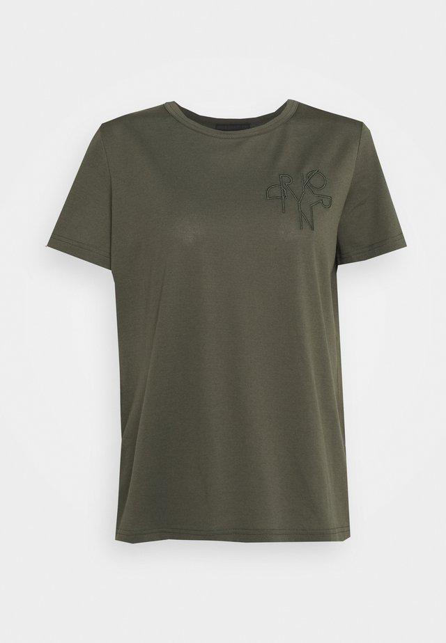 ANISIA - T-shirt imprimé - green