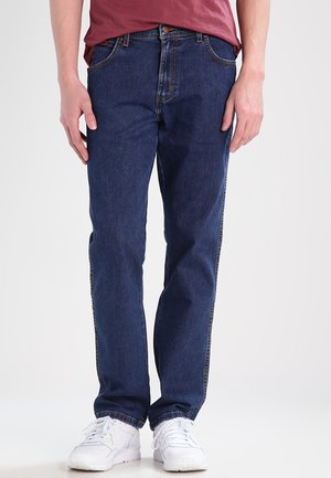 TEXAS STRETCH - Jeans a sigaretta - darkstone