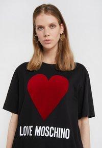 Love Moschino - T-shirt imprimé - black - 3