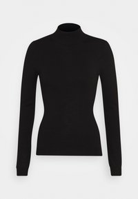 Anna Field - BASIC- Perkin neck jumper - Svetr - black - 4