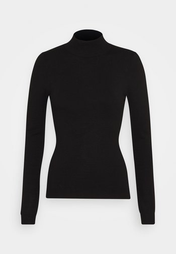 BASIC- Perkin neck jumper