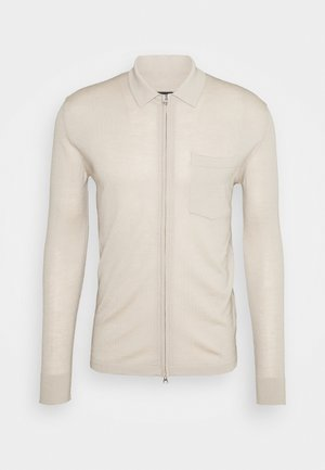 NYLE ZIP - Cardigan - sand grey