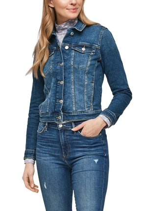 LANGARM - Denim jacket - medium blue