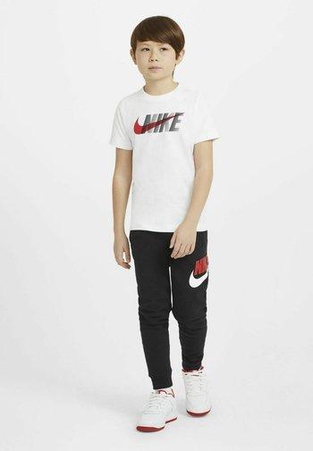 Print T-shirt - white/university red