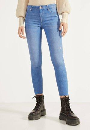 PUSH UP - Jeans Skinny Fit - blue-black denim
