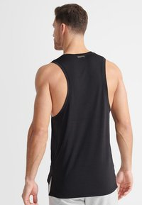 Superdry - SPORT TRAINING BOOTCAMP DROPPED - Top - black - 2