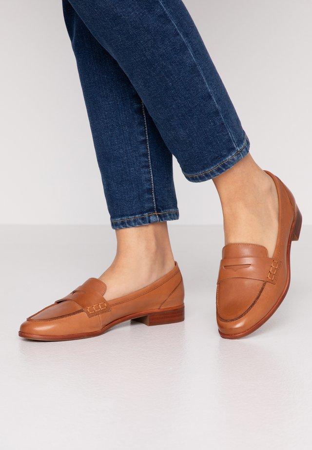 URAWEN - Nazouvací boty - medium brown