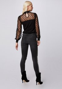 Morgan - Long sleeved top - black - 2