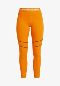 Calvin Klein Performance - FULL LENGTH  - Leggings - orange - 4