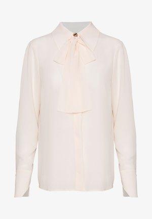 Button-down blouse - burro